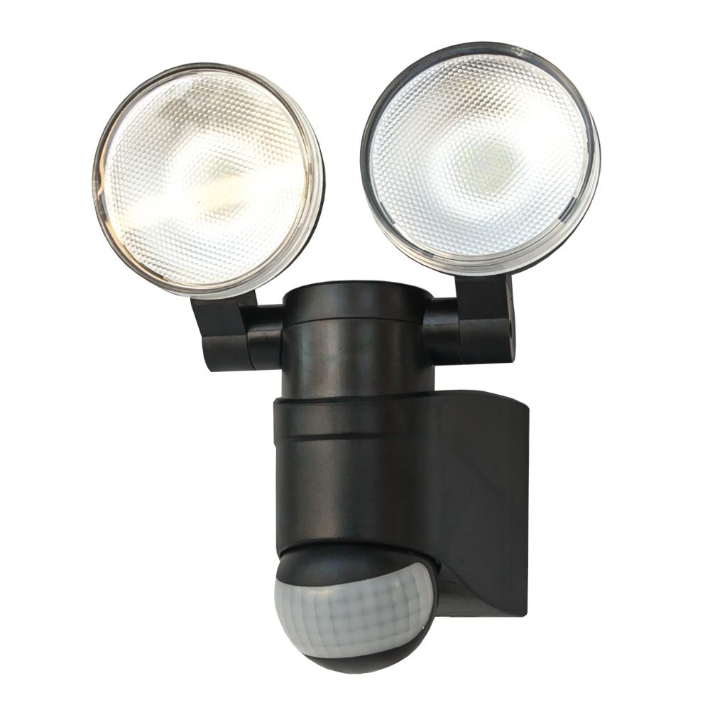 Lampa Led 2 X Reflektor Z Czujnikiem Ruchu Na Baterie